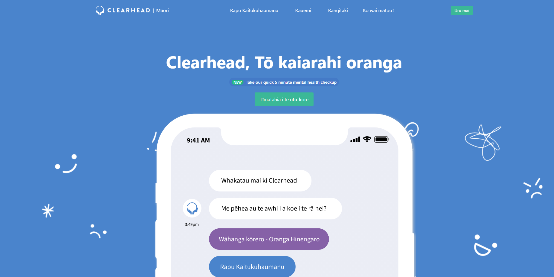 Clearhead partners with Chorus and the University of Auckland to evaluate Clearhead for Māori | Various media