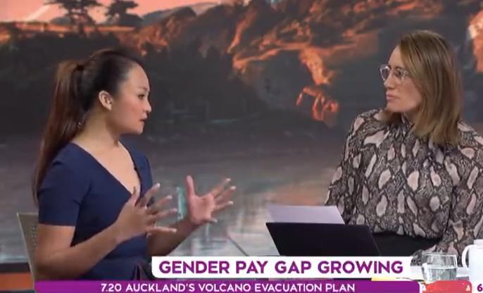TVNZ Breakfast Show - Gender Pay Gap | Dr Angela Lim